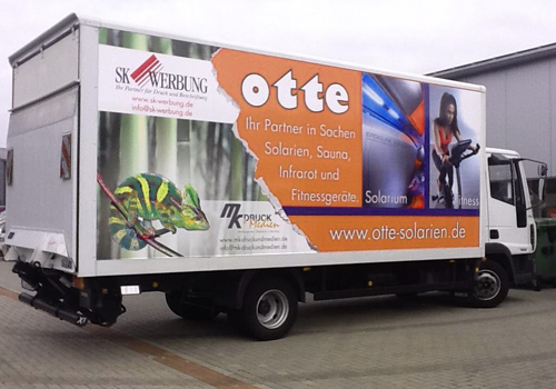 Otte Solarien - Spedition